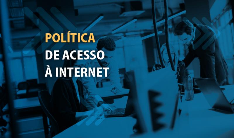 política de acesso à internet