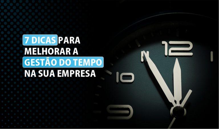gestão do tempo empresa